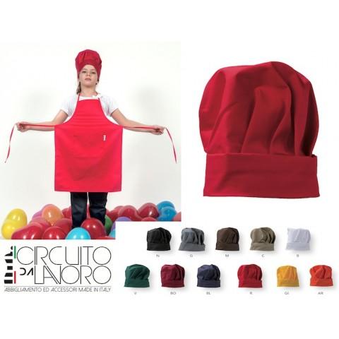 Cappello da Cuoco per Bambini Set 5 pezzi C11CK