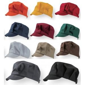 Cappello con visiera unisex ristorazione Confezione da 5 pezzi CAPAX