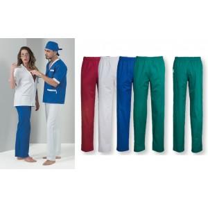 Pantalone Medico Unisex Elastico in Vita P12CMX