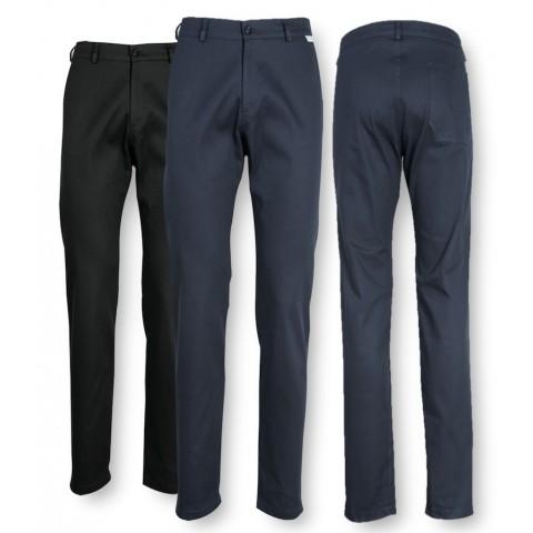 Pantalone Uomo Lavoro Tasche a Filetto P99U
